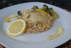 Savory Lemon Chicken