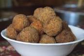 Mashed Potato Cheese Balls